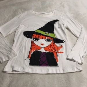 Girls Pullover Long Sleeve Tee. New Condition